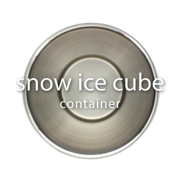 Snow Ice Cube Container top view