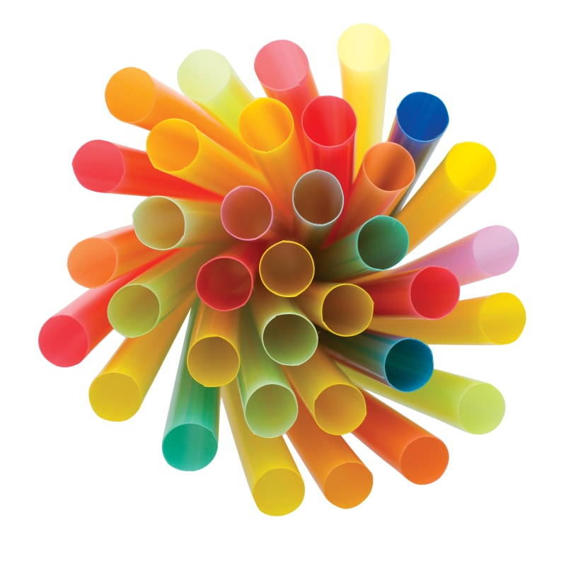 Boba Straws 12Mm Wrapped (21Cm) Cups And Packagings