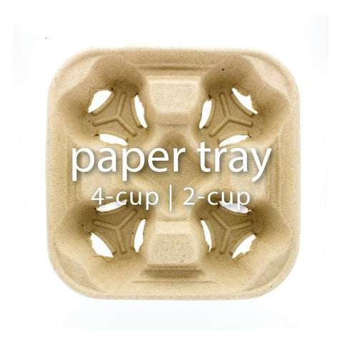 Paper Cup Holder Trays - BossenStore.com  - 1