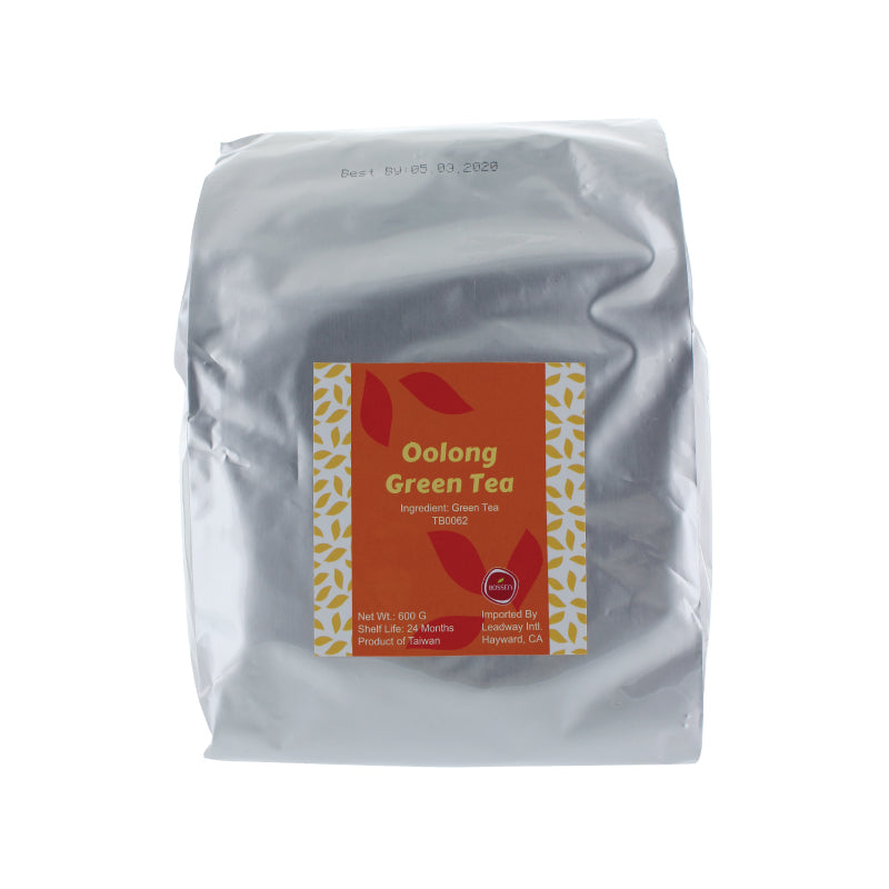 Oolong Green Tea Leaves packaging