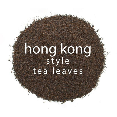 Hong Kong Style Tea Leaves closeup