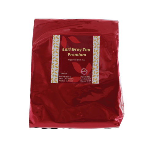 Ground Earl Grey Tea, Premium packaging