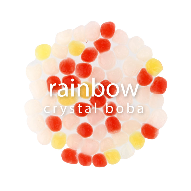 COMING SOON <BR> Crystal Boba - Rainbow | NEW