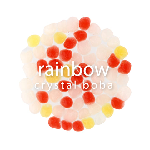 Crystal Boba - Rainbow | NEW