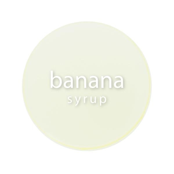 Banana Syrup close up