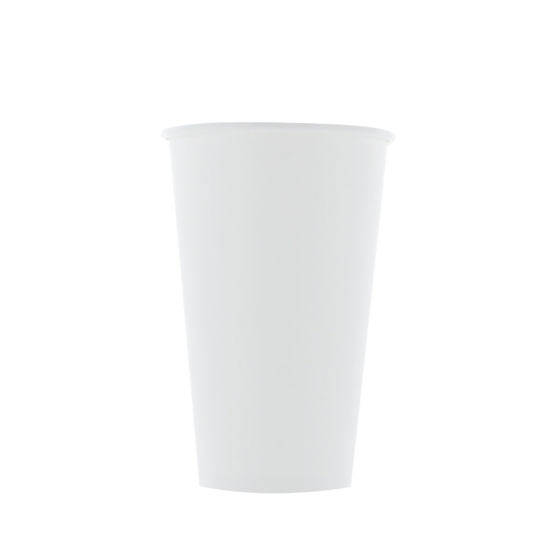White Coffee Cup (90mm) 16 oz.