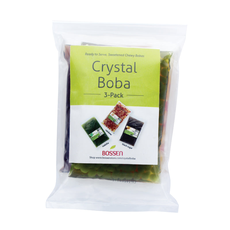 Crystal Boba Sample Pack | NEW