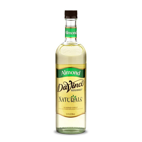 DaVinci All Natural Almond Syrup