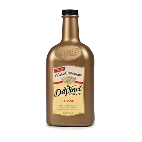 DaVinci White Chocolate Sauce (1/2 gallon)