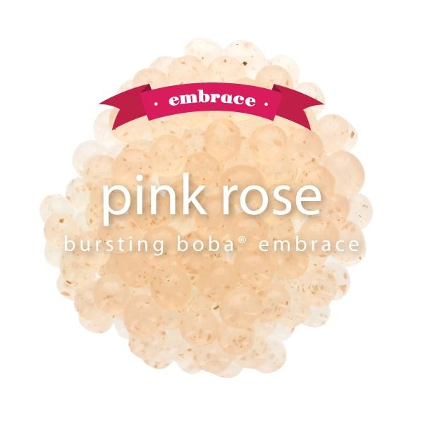 Pink Rose Bursting Boba® Embrace Boba
