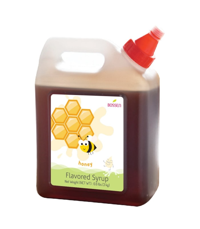 Honey Syrup Bottle Fruit