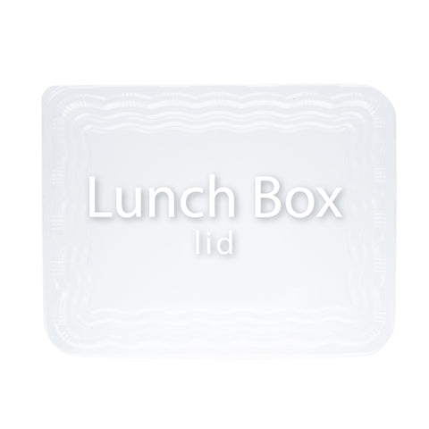 Plastic To-Go Lunch Box Container Lids