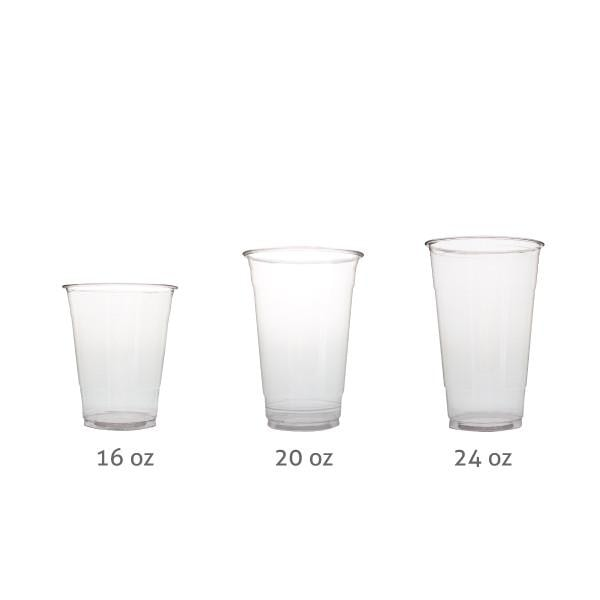 PET Plastic Cups (98mm) - BossenStore.com  - 2