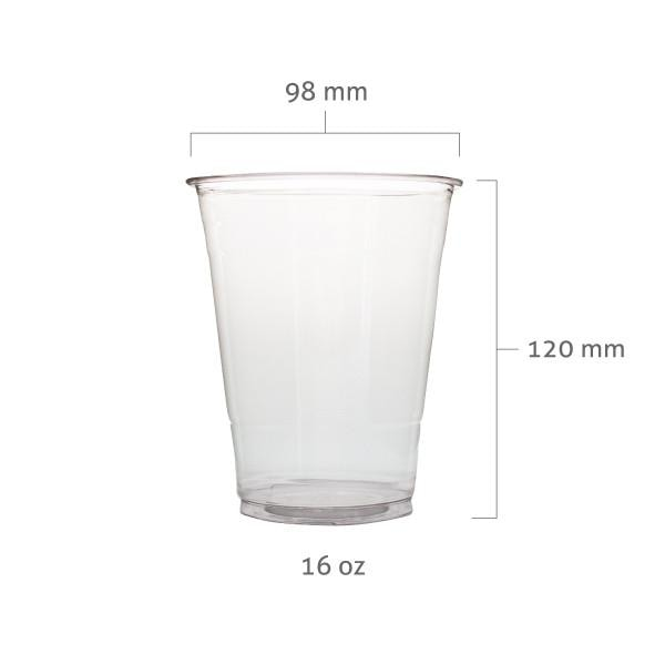 PET Plastic Cups (98mm) - BossenStore.com  - 3