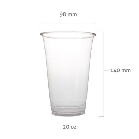 PET Plastic Cups (98mm) - BossenStore.com  - 4