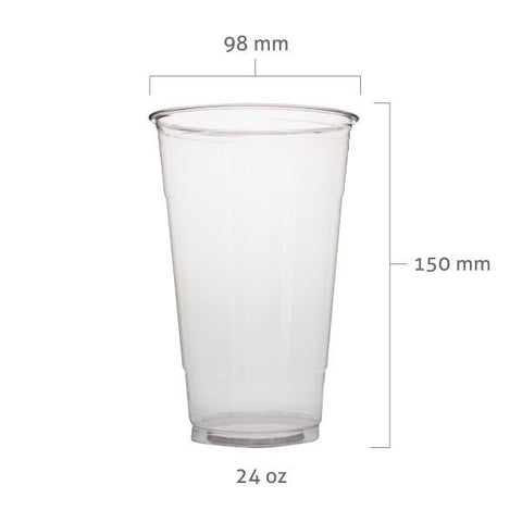 PET Plastic Cups (98mm) - BossenStore.com  - 5