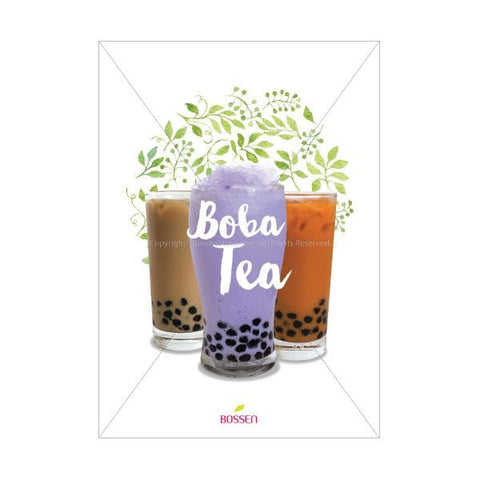 Bossen Boba Tea Poster - Garden Pos Marketing Materials