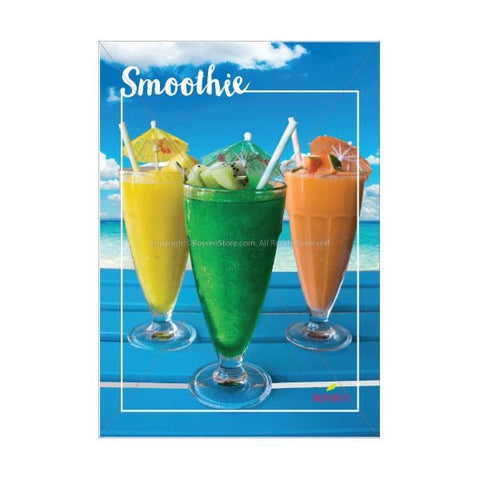 Bossen Smoothie Poster - Beach Pos Marketing Materials