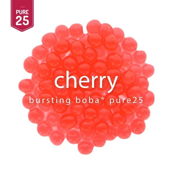 Cherry Bursting Boba® Pure25 Boba