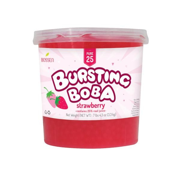 Strawberry Bursting Boba® Pure25 - BossenStore.com  - 2