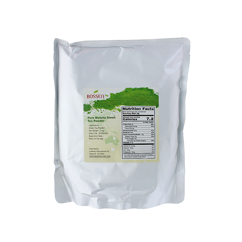 Matcha Green Tea Powder, Pure bag