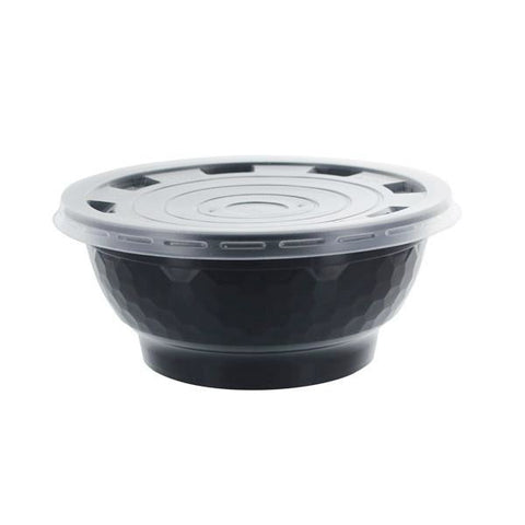PP Flat Lid for Black PP Bowl (36 oz) - BossenStore.com  - 3