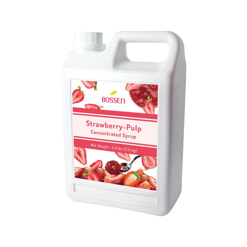 Strawberry Pulp Syrup