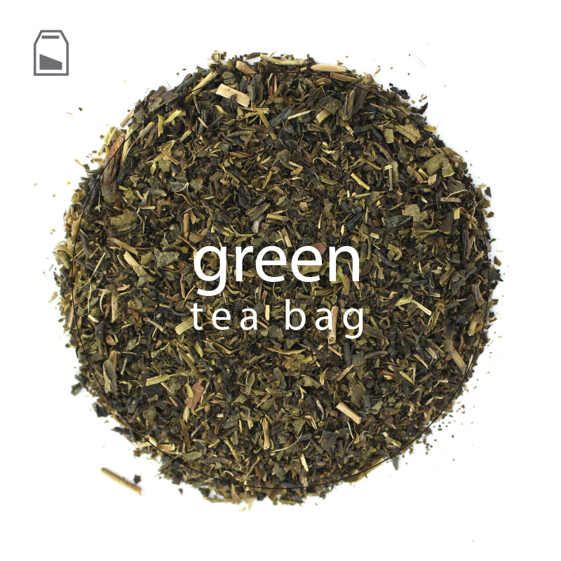 Green Tea Bags | Extra Large