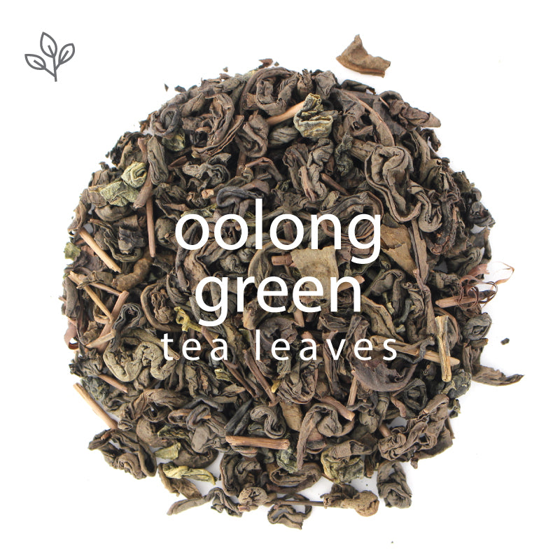 Oolong Green Tea Leaves
