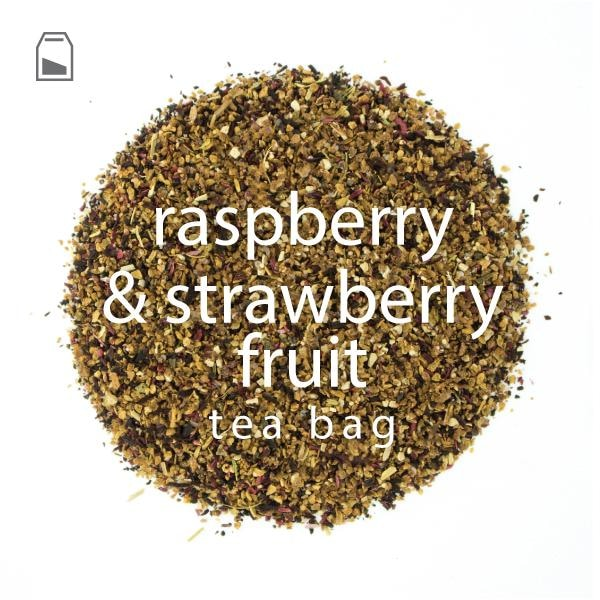 Raspberry & Strawberry Fruit Tea Bag