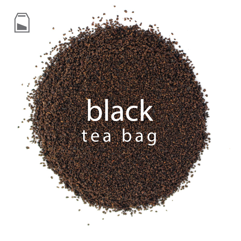 Black Tea Bags | Extra Large