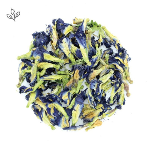 Dried Butterfly Pea Flowers Tea
