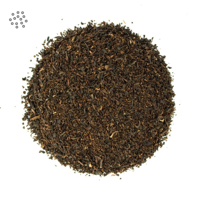 Ground Ceylon Tea Leaves