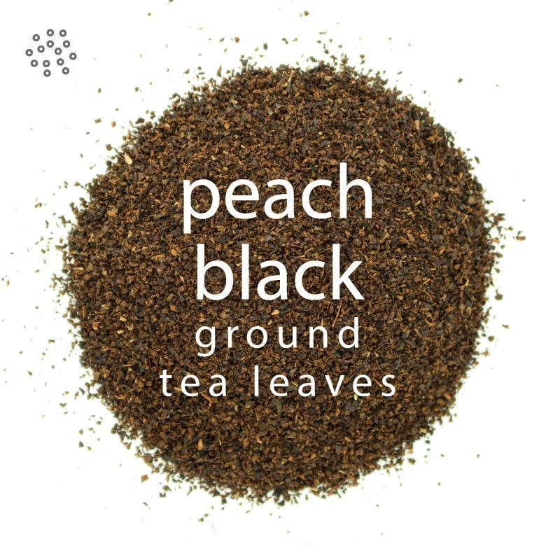 Ground Peach Black Tea