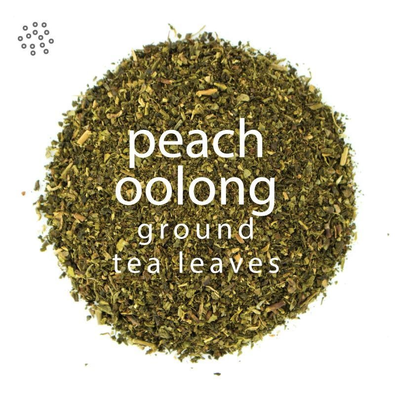 Ground Peach Oolong Tea