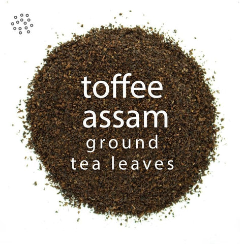 Ground English Toffee Assam Tea
