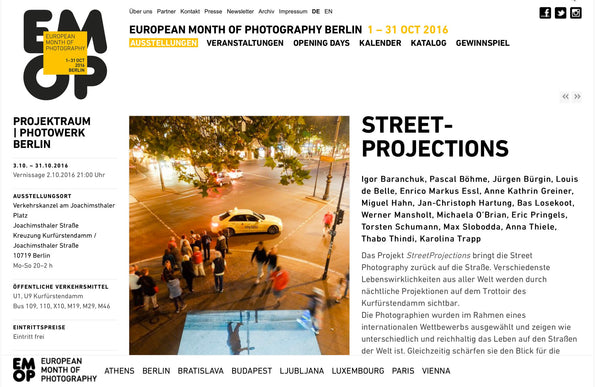 European Month of Photography