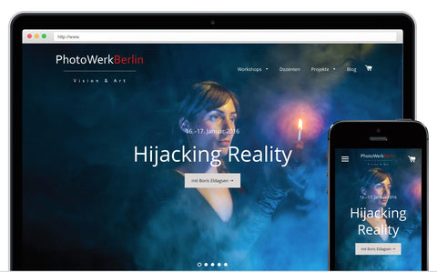 New features of www.PhotoWerkBerlin.com