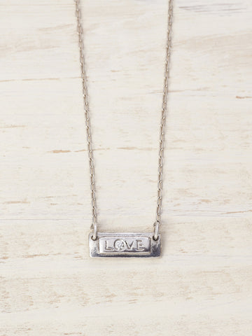 Love Bar Diamond Necklace