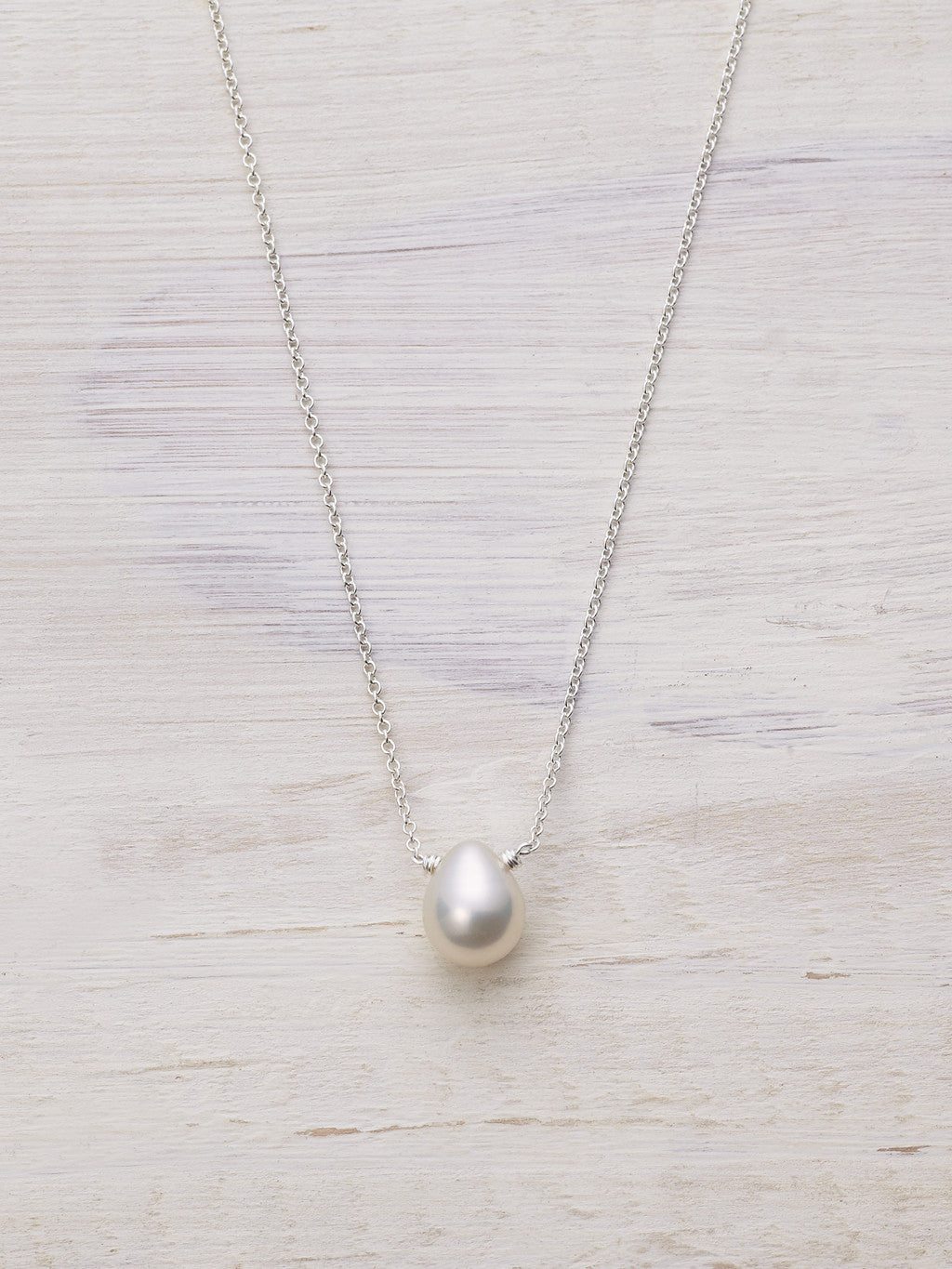 Pearl Raindrop Necklace