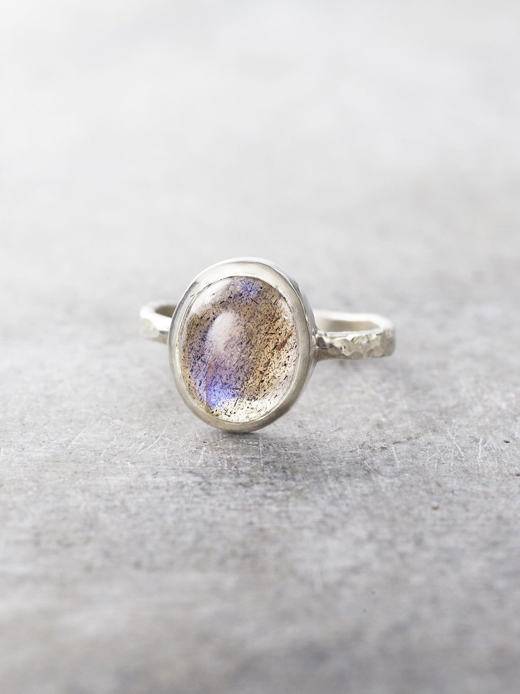 Labradorite Wishing Well Ring