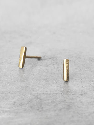Straight Bar Post Earrings