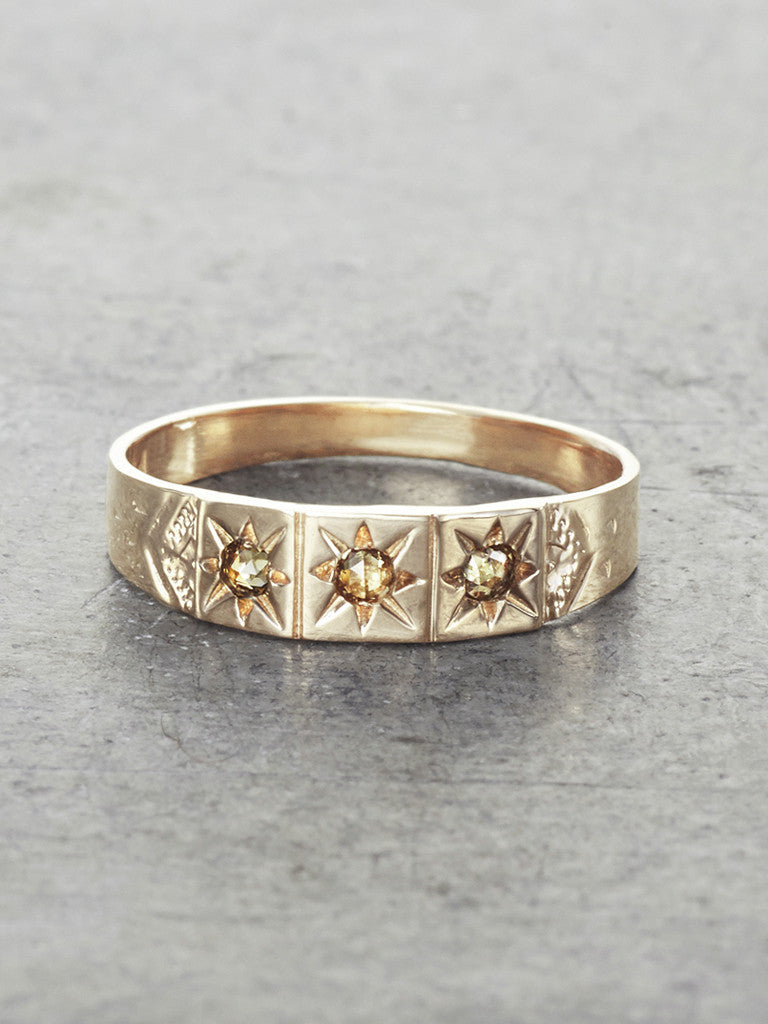 Boheme Gypsy Wedding Ring