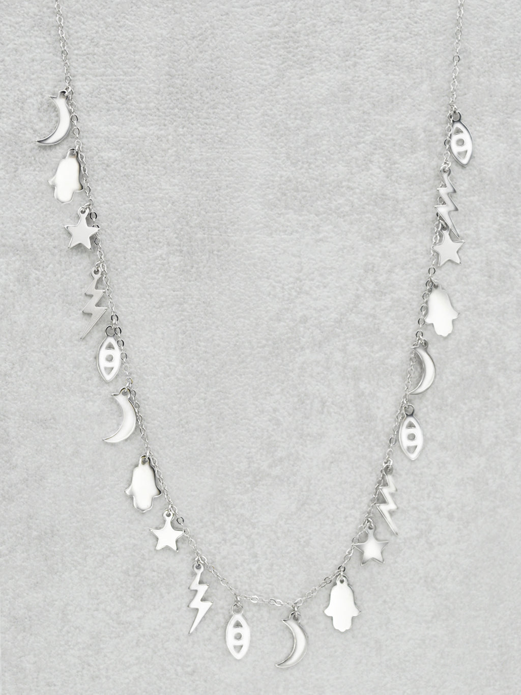 Celestial Magic Necklace - Sterling Silver