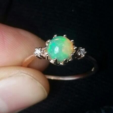 Magic Opal Ball Ring 2