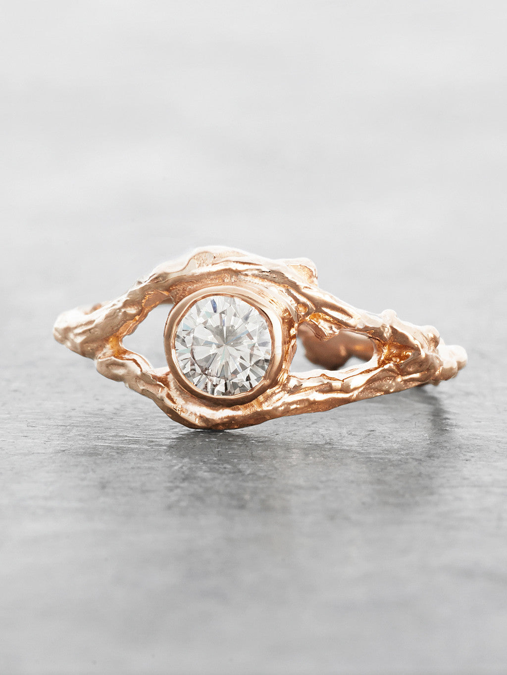 Fairy Branch Ring Rose Gold