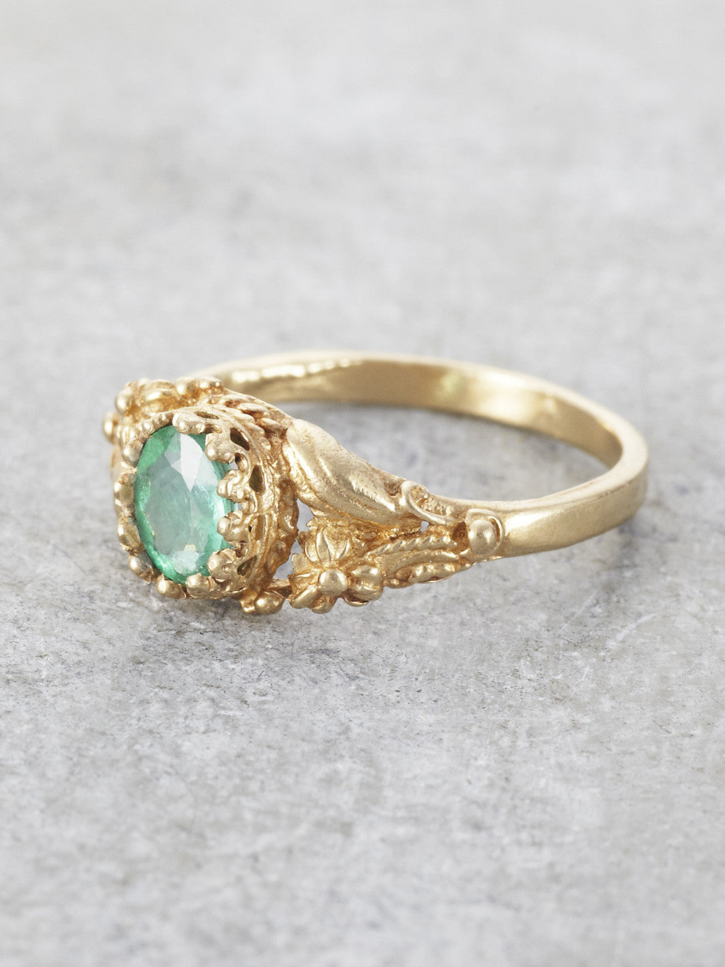 Emerald Garden of Earthly Delights Ring2