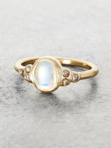 Golden Moonbeam Ring