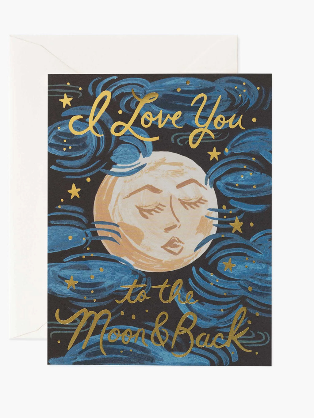 I Love you to the Moon and Back Large Card