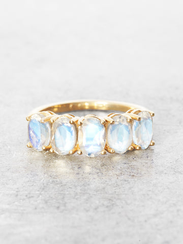 Guardian's Gate Moonstone Ring